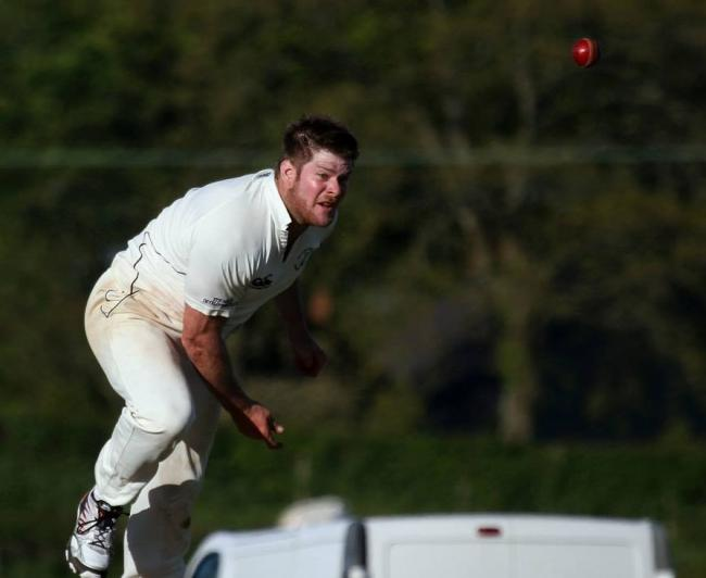 Adam James took four wickets for Haverfordwest.