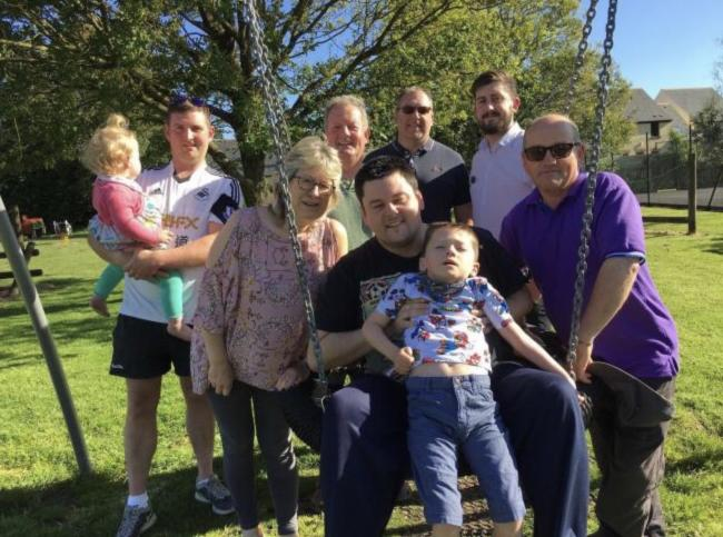 Making Clunderwen play park accessible to everyone is driving village fundraising forward.