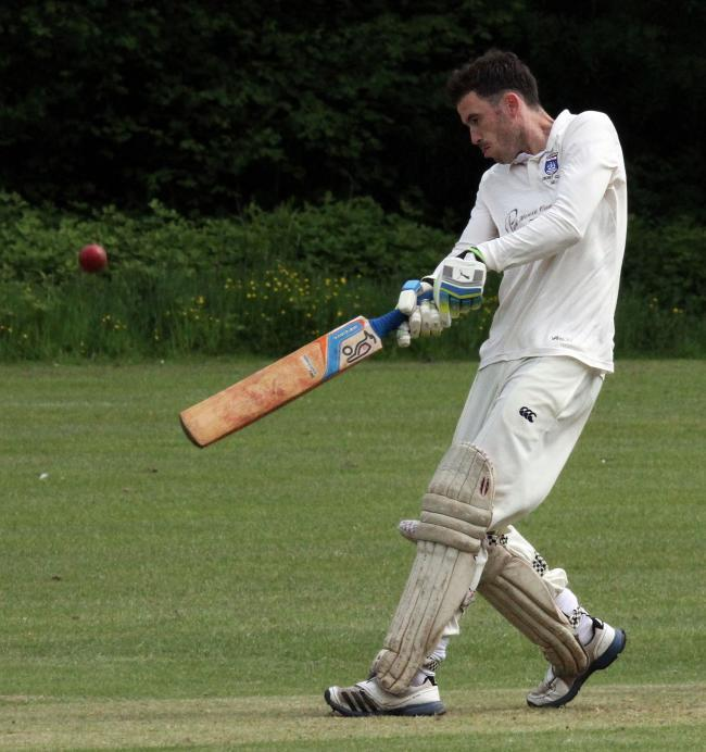 Nick Cope was in form for Saundersfoot.