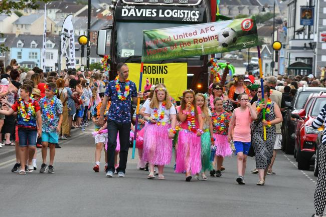 Milford Haven carnival. Picture: Martin Cavaney