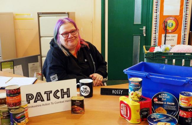 PATCH co-ordinator Tracy Olin at the charity's base in Hakin. PICTURE: Milford Mercury.