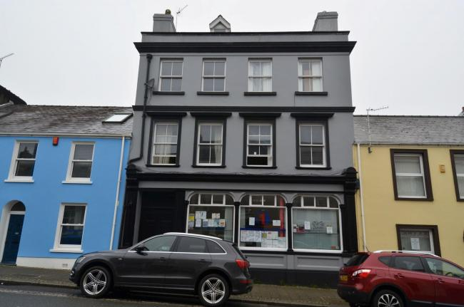 10, Meyrick Street Pembroke Dock, one of the buildings caught up in the grants fraud investigation. PICTURE: Martin Cavaney