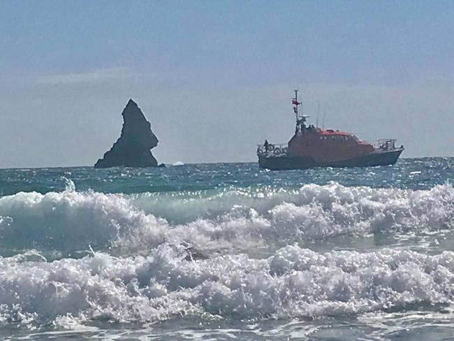 Tenby's all-weather lifeboat the Haydn Miller. PICTURE: RNLI.