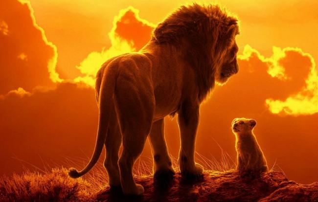 Enjoy the Lion King in the great outdoors
