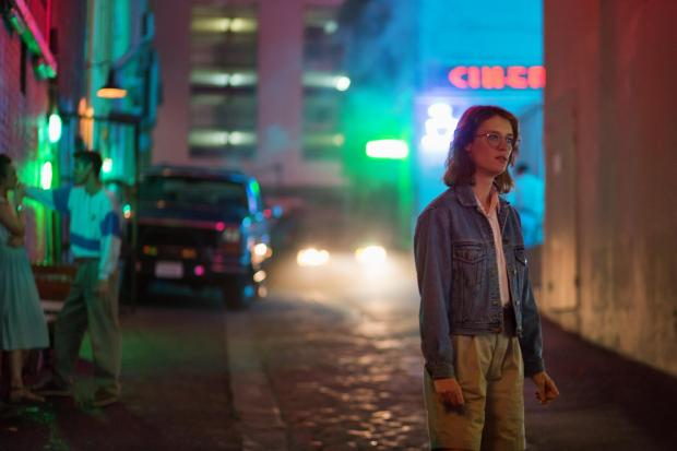 Milford Mercury: A scene from the episode San Junipero PICTURE: Netflix