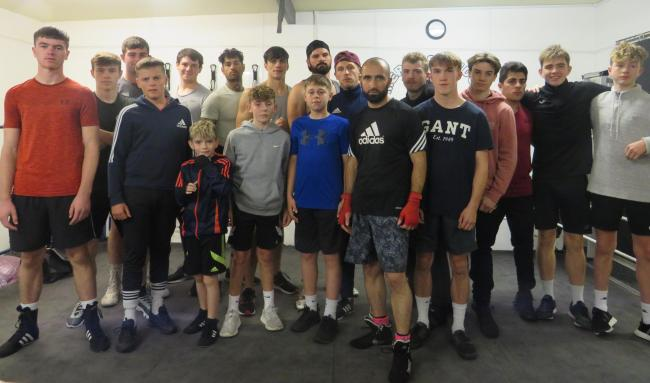 Merlins Bridge ABC boxers fighting fit for Friday
