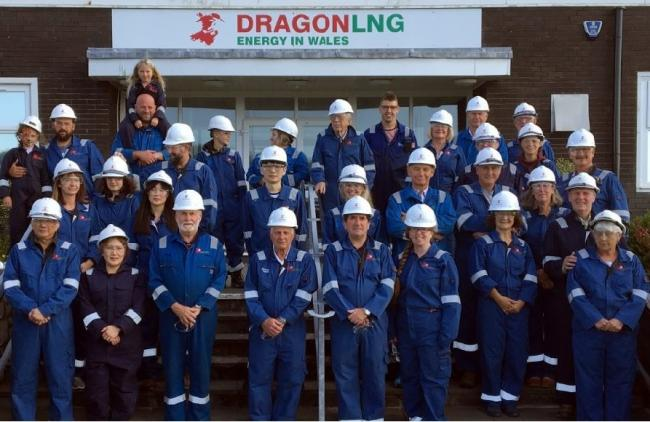 Dragon LNG 10th anniversary celebrations.