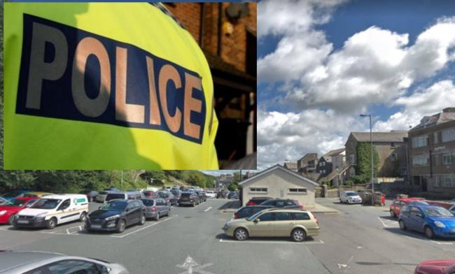 Police are appealing for information after a Mazda MX-5 sportscar was damaged at Haverfordwest's Castle Lake car park. PICTURE: Google Street View.