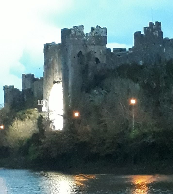 Hit TV series A Discovery of Witches is using Pembroke Castle for filming - Milford Mercury
