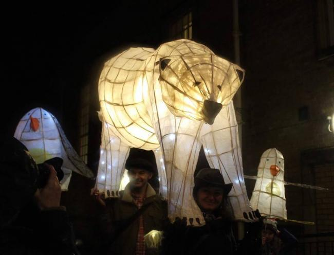 A previous Pembroke Dock lantern parade. PICTURE: Lanterns in the Park.