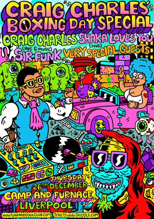 Craig Charles Funk and Soul Boxing Day - Liverpool