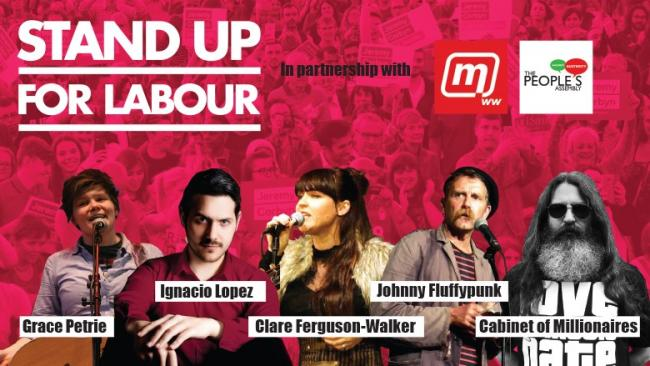 Stand up for Labour to bring election laughs