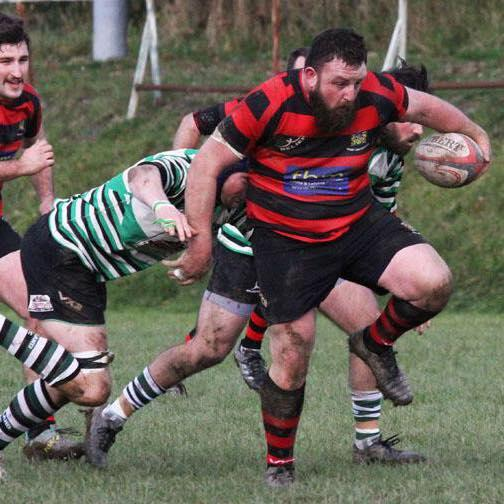 Rob Luly scored a crucial Tenby try.
