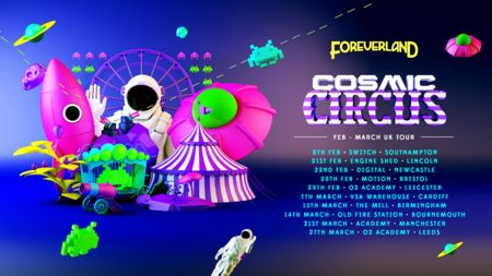 Foreverland Cardiff Cosmic Circus Rave