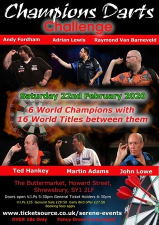 Champion of Champions Darts Challenge