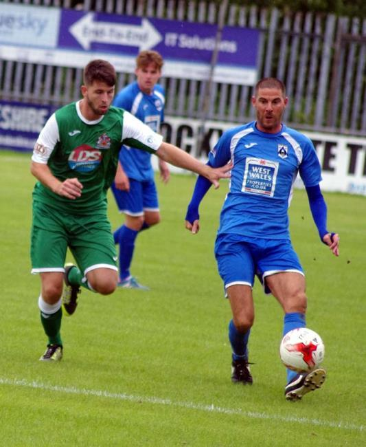 Nicky Palmer scored the Bluebirds' only goal.