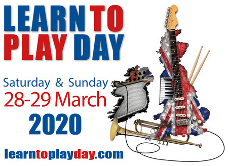 Learn to Play Day 2020 is coming to Staffordshire