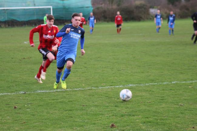 There were two goals for Dylan Davies on Saturday.