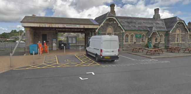 Pembroke Dock railway station. PICTURE: Google Street View.