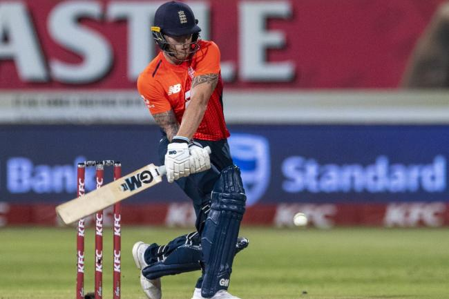 Ben Stokes top-scored for England in the second Twenty20 against South Africa