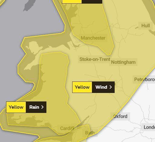 Hold on to your brollies; torrential rain and 70mph winds forecast for Friday