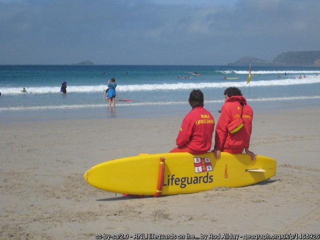 RNLI lifeguards are not being deployed on beaches just yet
