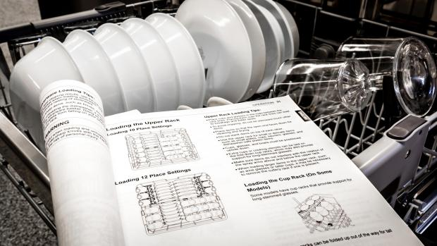 Milford Mercury: Find your dishwasher's user manual, and use it. Yeah, it's not a compelling read, but it will show you the best ways to load. And if anything ever goes wrong, the manual will help you troubleshoot. Credit: Reviewed / Jonathan Chan