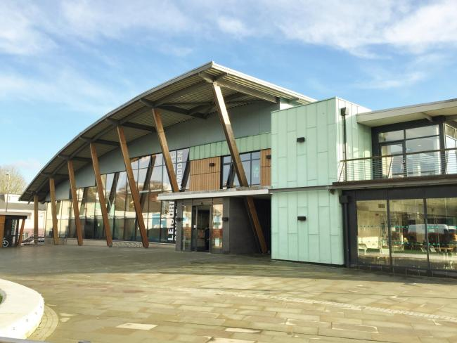 Haverfordwest Leisure Centre in one of ten sports facilities run by Pembrokeshire County Council. PICTURE Western Telegraph.