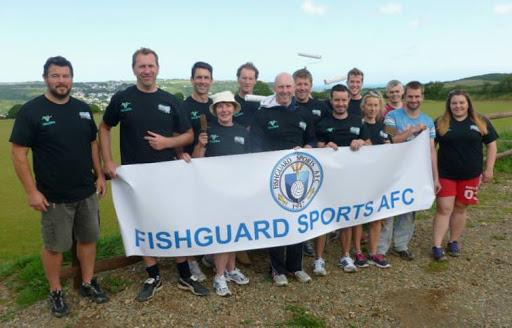 Fishguard Sports are one club to benefit.