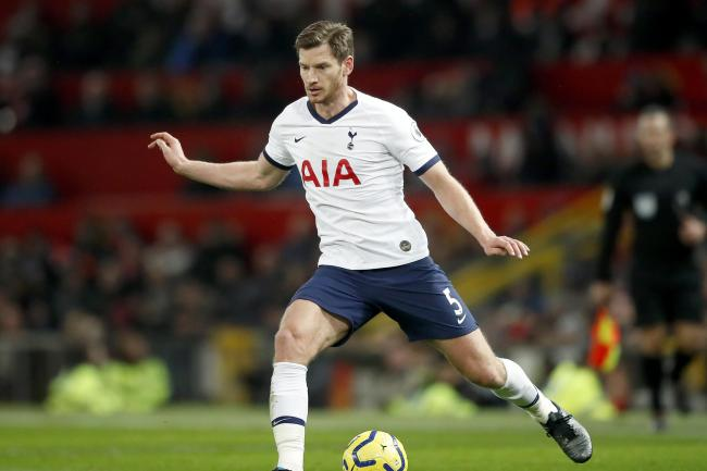 Jan Vertonghen has joined Portuguese side Benfica