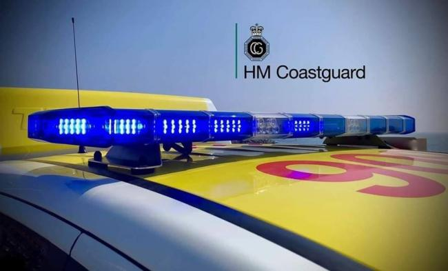 Coastguard teams were able to locate the boat