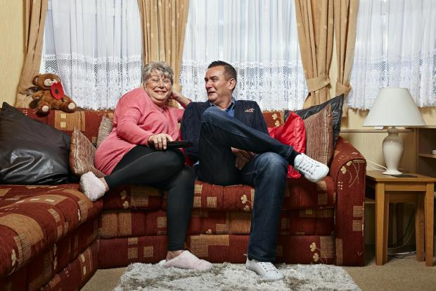 Milford Mercury: Jenny and Lee. Picture: Channel 4