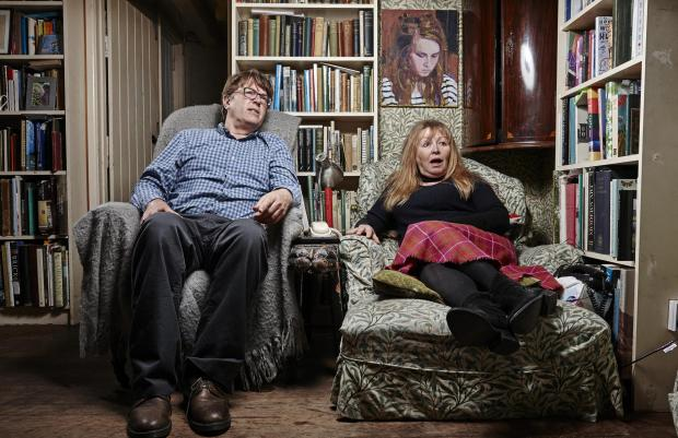 Milford Mercury: Giles and Mary. Picture: Channel 4
