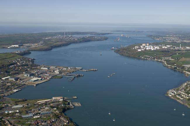 The Milford Haven Waterway is widely recognised as the energy capital of the UK. Photo by Mark Adrien Richards - Aurora Im