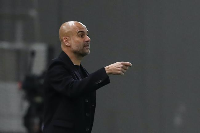 Pep Guardiola's side won in Greece on Wednesday night