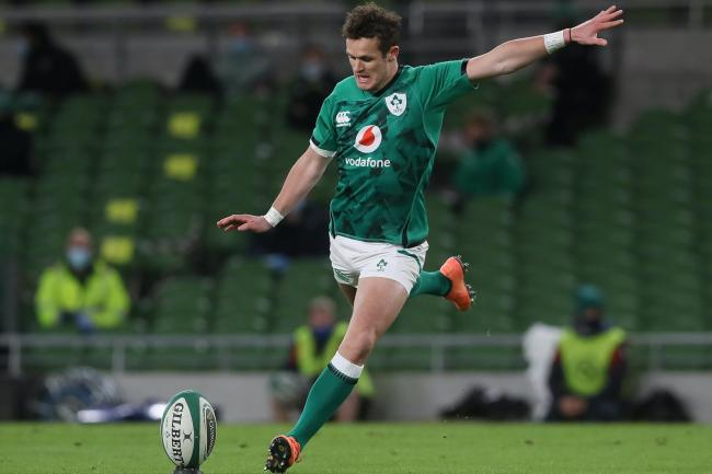 Ireland fly-half Billy Burns is preparing for his first international start