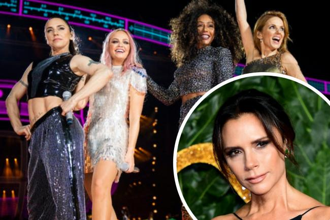 Mel B hints at Victoria Beckham Spice Girls return. (PA/Canva)