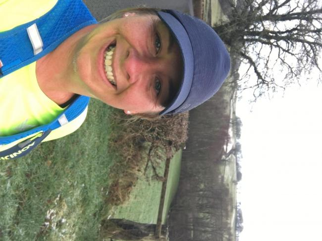 Sarah Jones, a self-employed mother of two boys, who lives in Carmarthenshire took up running less than a year ago and signed up to the @_run1000 challenge to help her mental health and keep her running motivation going during lockdown