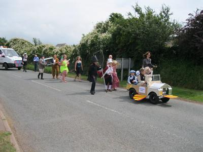 Crowds turned out for this year's Herbie Carnival
