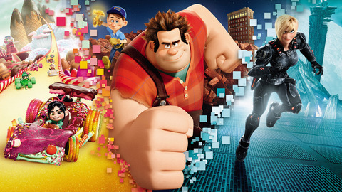 Oscar-nominated Wreck-It Ralph had the biggest Di