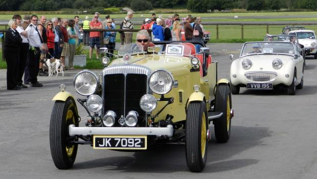 IT'S A CLASSIC: Vintage and classic cars of all ages join the run each year. PICTURE: Milford Mercury.