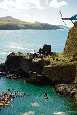 No Red Bull Cliff Diving return to Abereiddy in 2014