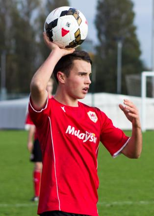 PROMISING TALENT: Cardiff City Youth defender Dylan Rees. (3150368)