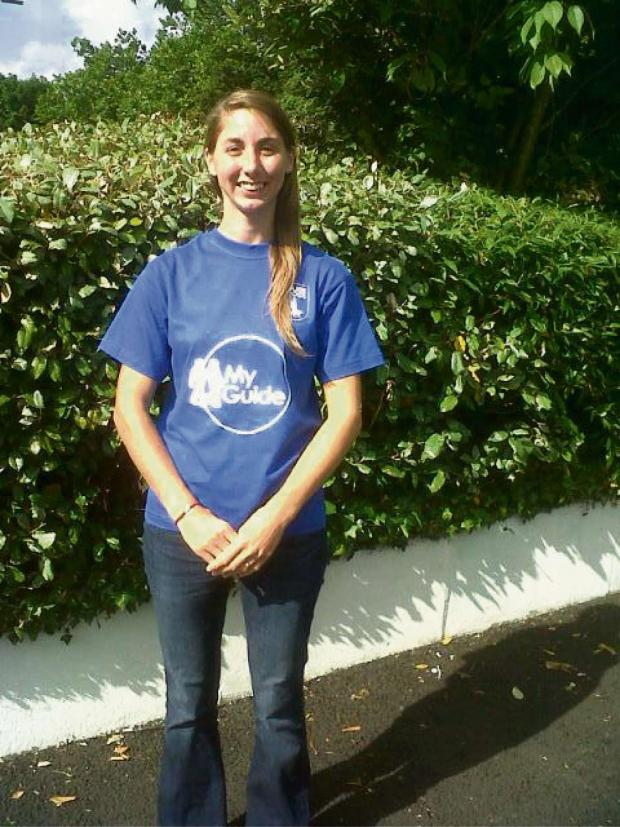 Milford Mercury: Kylene Rafferty of Pembroke, My Guide ambassador for Guide Dogs Cymru