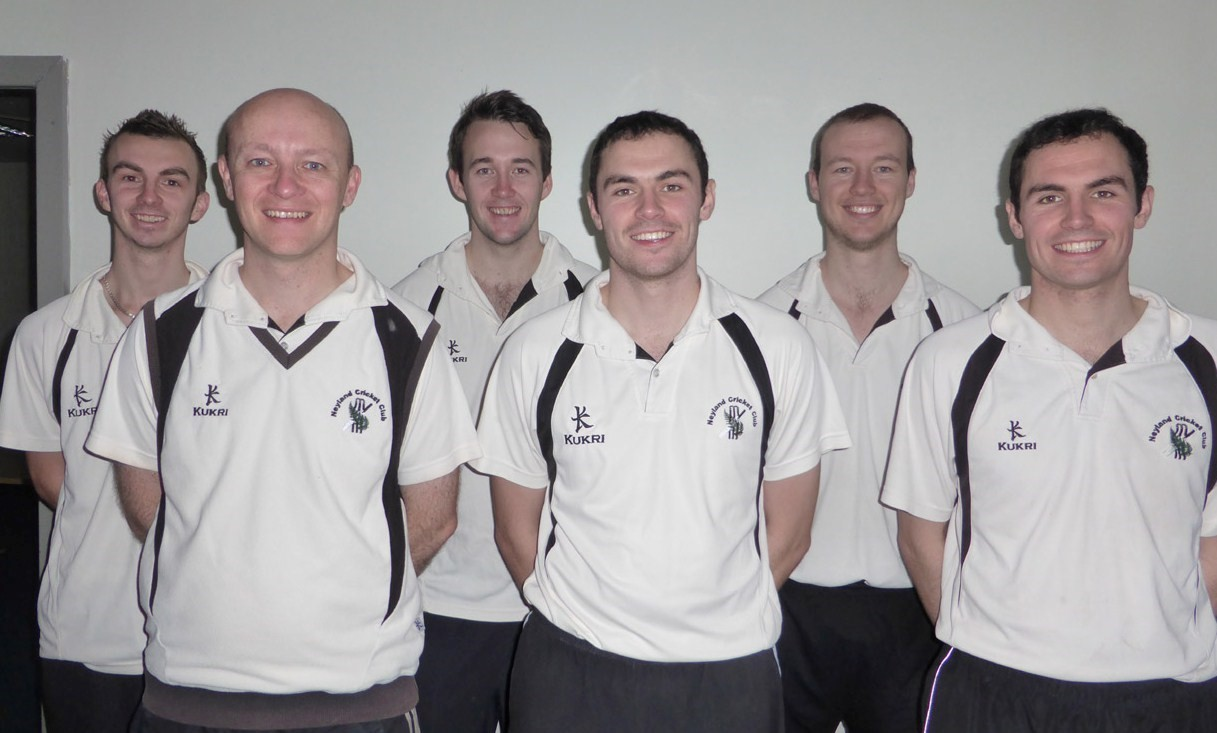 REIGNING CHAMPIONS: Neyland cricketers got their indoor league season off to a perfect start. (3400394)
