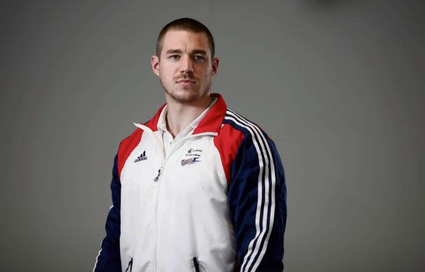 BOBSLEIGH TASK: Bruce Tasker is part of the GB bobsleigh quartet who believe they have a chance of winning a medal at the 2014 Winter Olympics in Sochi. (3542895)
