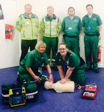 HELPING HANDS: A new ambulance scheme is looking for volunteers.