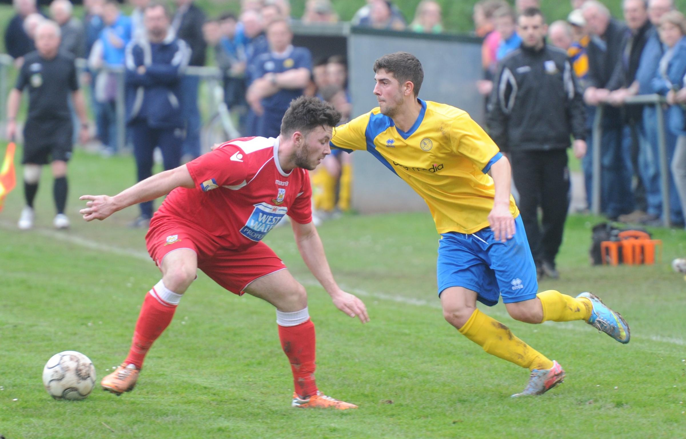 Haverfordwest County lose crucial top of table clash