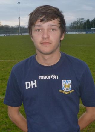 ON THE BALL: Daniel Harding has made an impression playing for Haverfordwest County Youth team. (5095389)