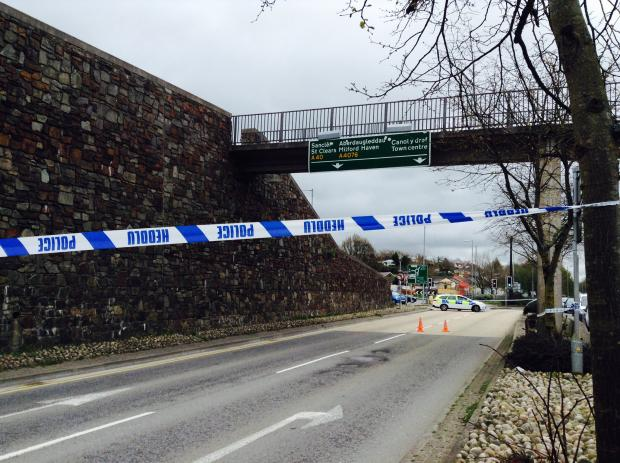 Police confirm death of man, 42, in Haverfordwest town centre incident